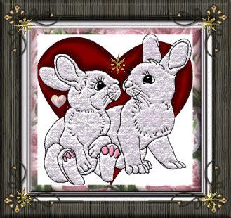 fotos de amor animadas con movimiento im 225 genes de amor con movimiento conejos enamorados