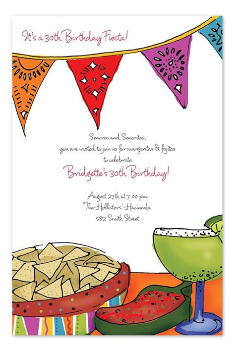 Free Printable Mexican Invitation Templates
