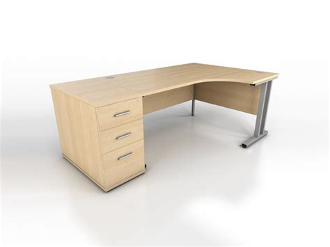 Corner Desk Maple Maple Corner Desk Icarus Office Furniture