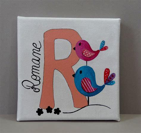 Idee Peinture Enfants by Tableau Pr 233 Nom Pour Chambre D Enfant Oiseaux Idee