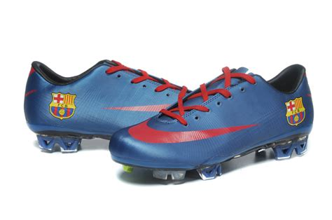barcelona football shoes barcelona nike mercurial vapor superfly iii fg blue