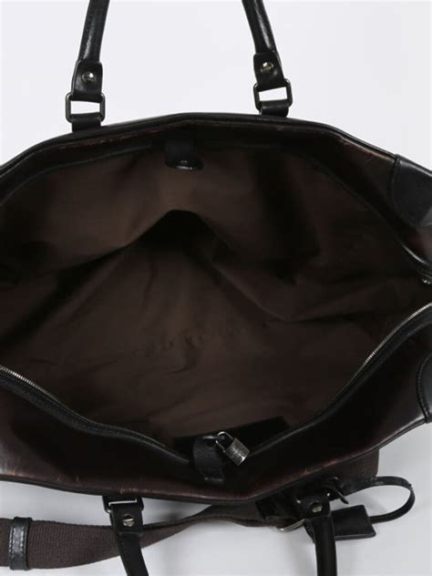 Dolce And Gabbana Travel Bag by Dolce Gabbana Brown Leather Travel Bag Luxury Bags