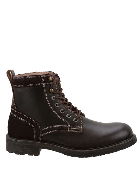 bass s boots g h bass co reddington leather ankle boots in brown