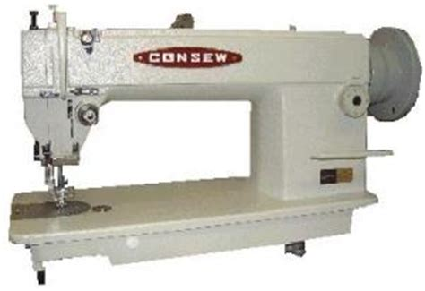 auto upholstery sewing machine consew 205rb walking foot top and bottom feed upholstery
