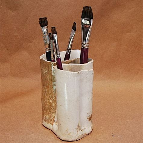 put in makeup brush holder best 25 pottery toothbrush holder ideas on