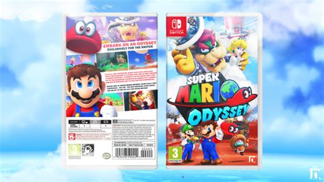 mario odyssey kingdom adventures vol 2 books mario odyssey misc box cover by robertngraphics