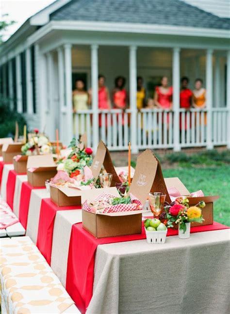 backyard picnic ideas ideas originales para decorar las fiestas de verano