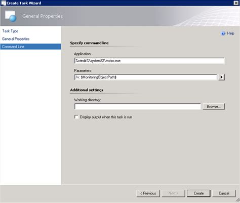 mstsc console kevin greene it scom 2012 run remote desktop from