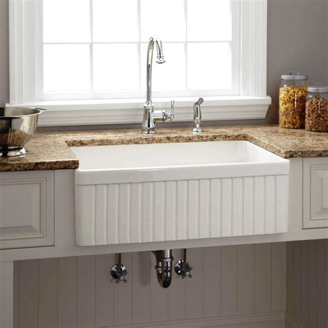 Farmer Kitchen Sinks 95 Sinks Farmer Kitchen Sink Fireclay With Porcelain C 100 Farmhouse Kitchen Sink With