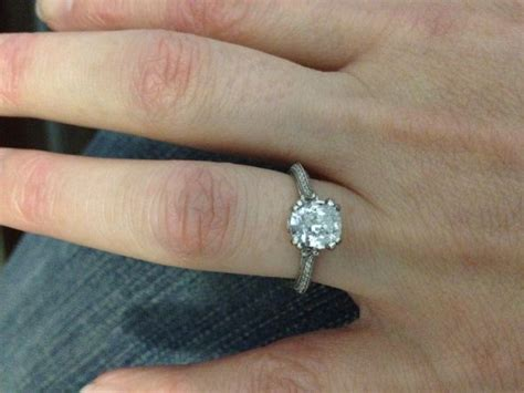 wedding band to go with knife edge engagement ring