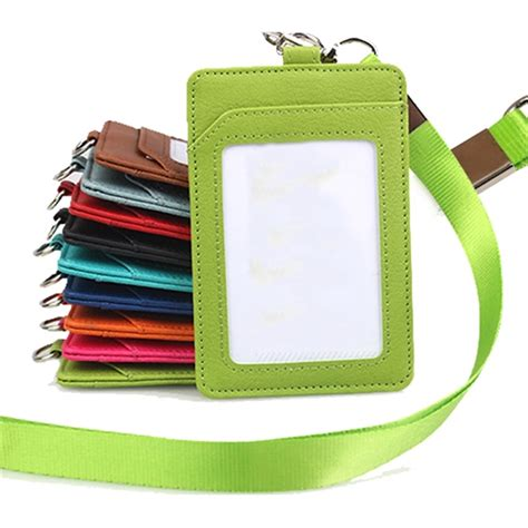 Portable Wallet Leather With Holder Lanyard Sams 2010 lanyards page 3