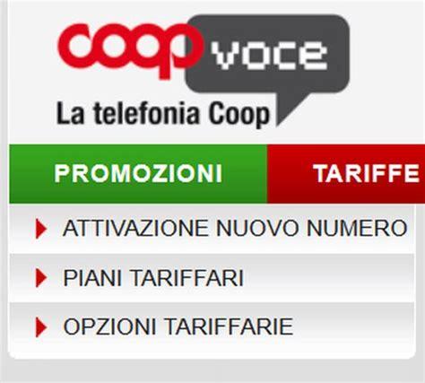 offerte telefonia mobile coop abbonamento coop voce