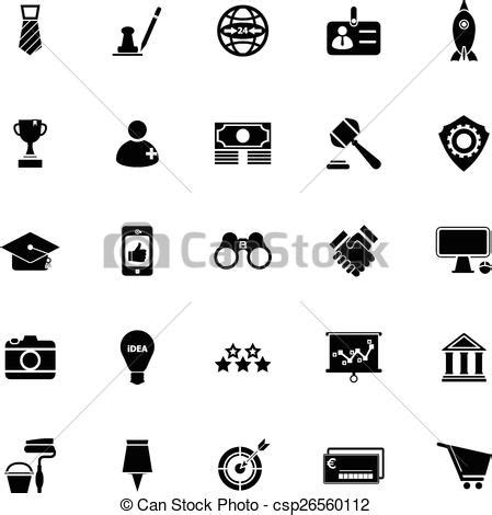 sme icons  white background stock vector