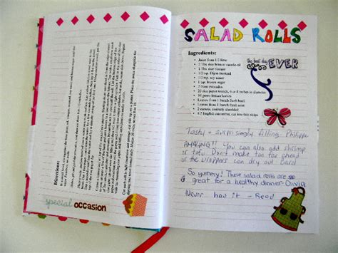 Handmade Cookbook Ideas - diy recipe book www imgkid the image kid has it