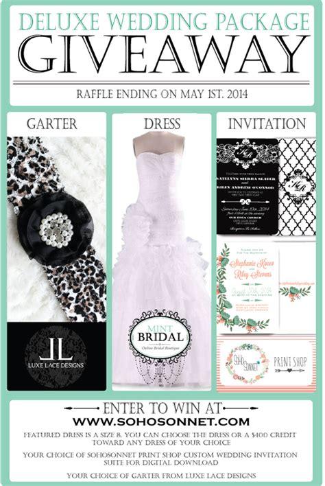 Wedding Contest And Giveaways 2014 - wedding dress giveaway contest 2014 l mint bridal mintbridal com