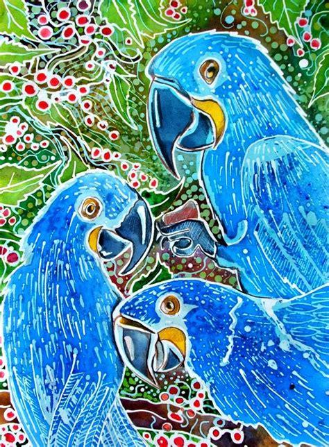 Korek Pisau 03 Motif Hewan batik hyacinth macaw by dawndelver on deviantart