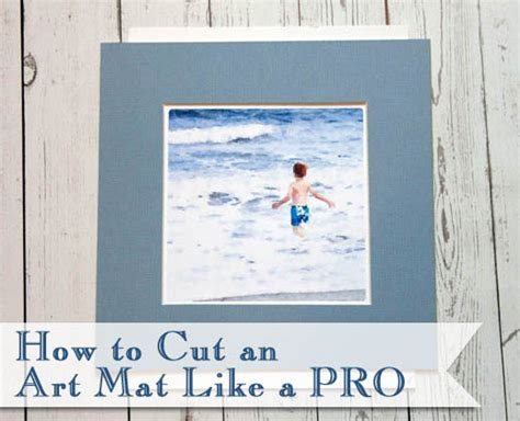 how to cut an mat like a pro pretty handy