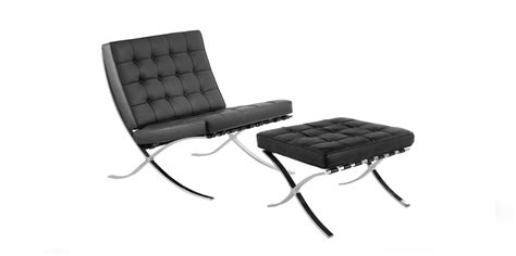 mies van der rohe barcelona bench barcelona chair and stool by ludwig mies van der rohe