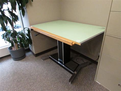 Mayline Drafting Table Parts Mayline Futur Matic Powered Drafting Table 60 X 38 Allsold Ca Buy Sell Used Office