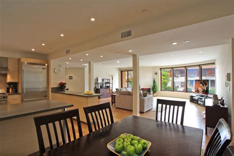 Modern Kitchen And Dining Room Design Open Plan Kitchen Living Dining Room Living Room
