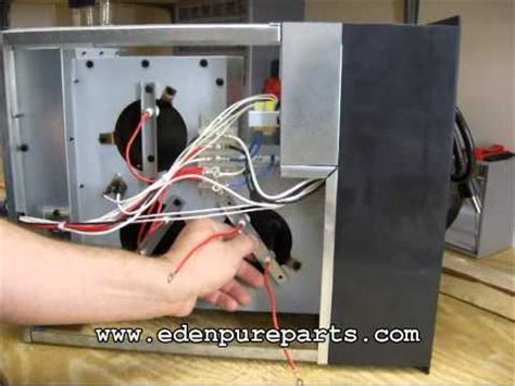 edenpure heater fan not working element short youtube
