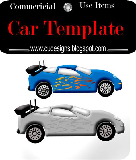 racing car template cu designs cu race car template