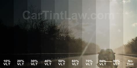 window tint darkness chart vlt exles car tint
