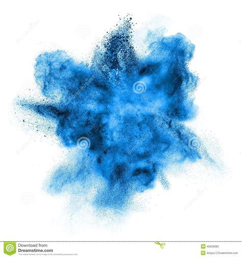 banche immagini gratis explos 227 o azul do p 243 isolada no branco foto de stock