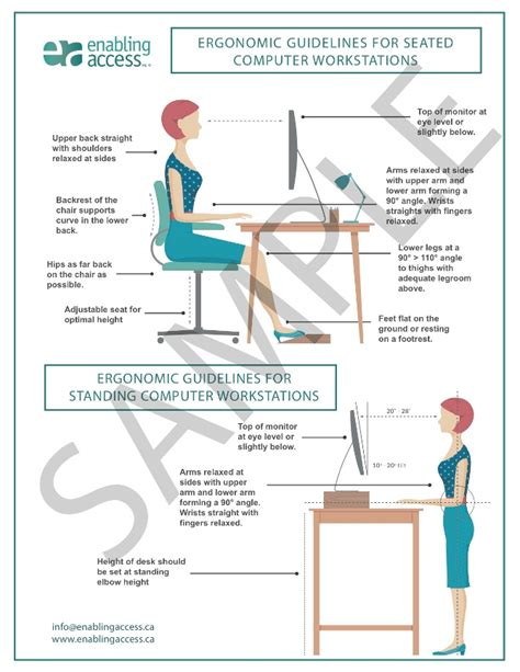 Computer Workstation Ergonomics Australia Enabling Access Shop Enabling Access Ergonomic And