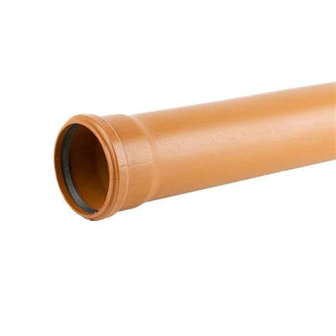 Drainage Pipe Sewer Underground Drainage Pipe Single Socket 6m 160mm