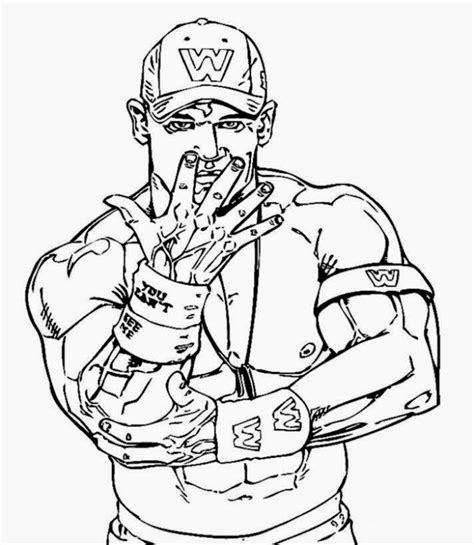Wwe Coloring Pages Rey Mysterio Gianfreda Net Cena Coloring Pages Printable