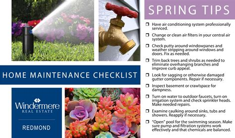 home maintenance checklist tips polly wong