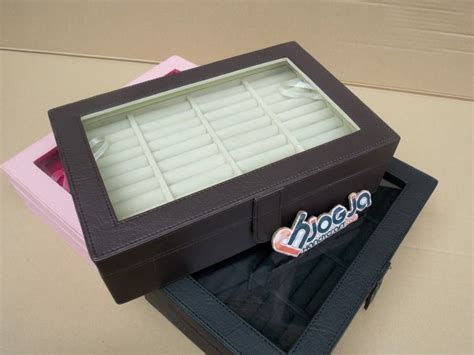 Cincin Kode Cc043 Box Kaca Ukir Nama universal ring box organizer kotak tempat cincin
