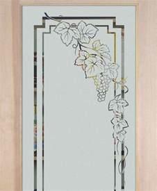 Glass Designs For Doors Grapevines Designs Sans Soucie Glass