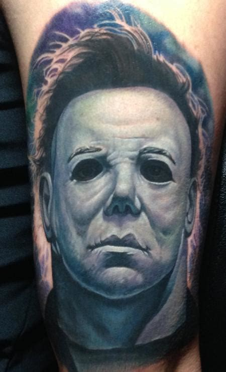 michael myers tattoo michael myers by steve wimmer tattoonow