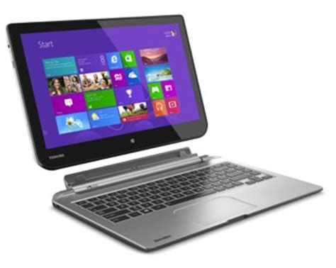 toshiba satellite click a large tablet laptop for 600 computerworld