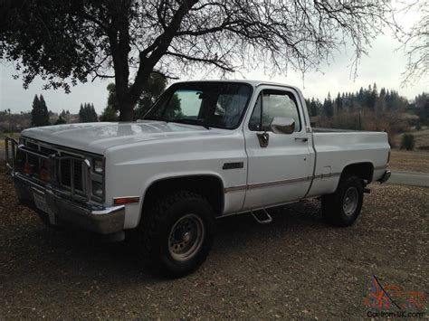 short bed chevy 1986 chevy short bed 4x4 rust free