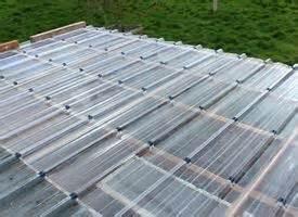 tettoie in plastica prezzi copertura leggera tetto copertura tetto come