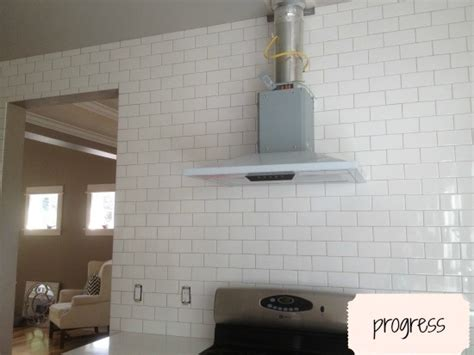 How To Put Up Backsplash In Kitchen by Subway Tile Grout Oyster Gray