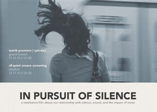 a sound in the silence an eco critical anthology books in pursuit of silence documentary premiere at cph dox