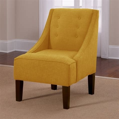 Yellow Swivel Accent Chair With Arms Living Room Furniture Swivel Accent Chair With Arms
