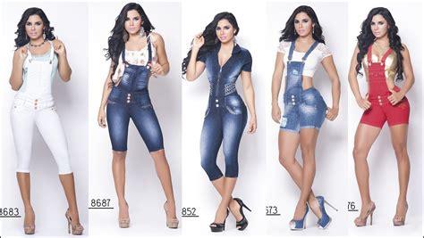 moda de jeans de damas 2016 enterizos jeans colombiano cheviotto youtube