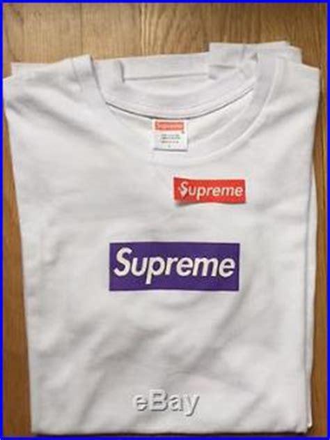 Supreme Purple Box Logo Built Up T Shirt Quality 1 1 supreme purple box logo shirt size large