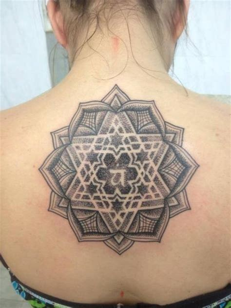 tattoo geometric back back geometric tattoo by leds tattoo