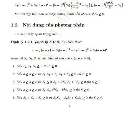 phuong phap phan tich tong cac binh phuong sos trong