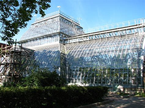 St Petersburg Botanical Gardens Picked Gorgeous Greenhouses Of The Past Present And Future Atlas Obscura