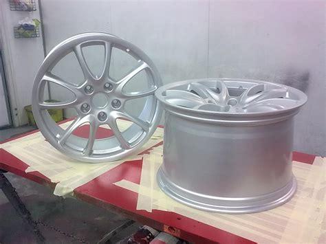 Wheel Refurbishment And Powder Coating The Body Shop