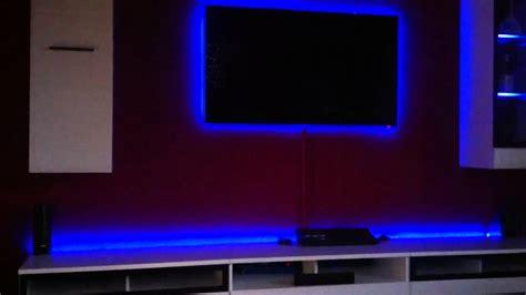 Bed Headboard Ideas by Samsung Ued 7090 Custom Led Setting Gaming Room Full