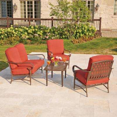 oak cliff patio conversation sets outdoor lounge