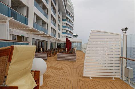aidaprima pooldeck lanai kabine wintergarten und balkon am promendendeck